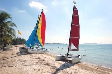 Biscayne Bay Beach Catamarans