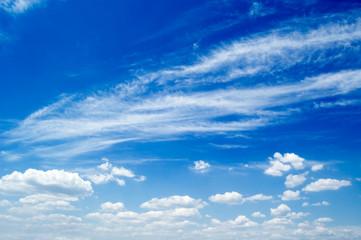The sky.