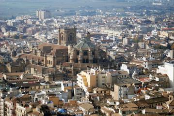 Cathedral in Granada Spain