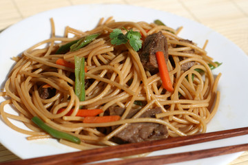 Beef Chow Mein Noodles