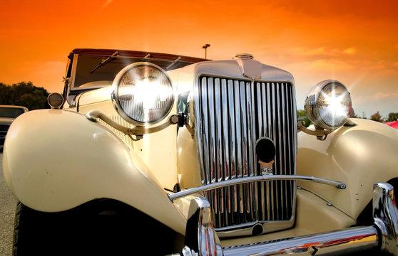 Shinny Classic Car