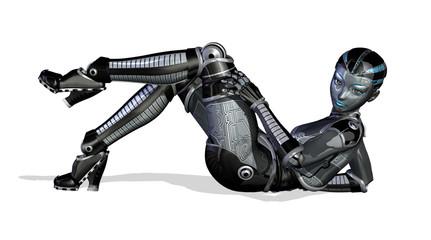 Sexy Robot - Reclining Pose