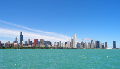 Chicago Illinois skyline