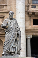 Sculpture of St. Peter