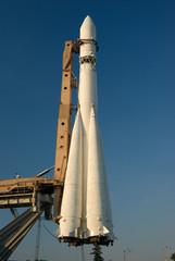 """Old russian rocket """"East"""" - 2"""