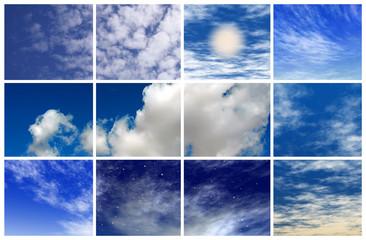 Mosaico Nubes