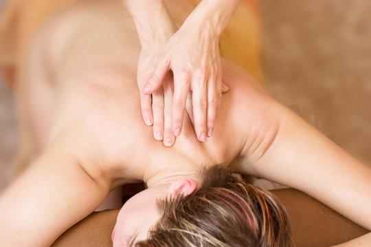 Therapy massage procedure