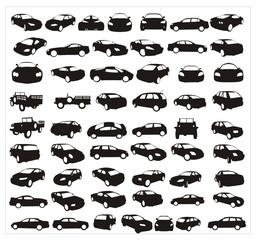 carros en vector