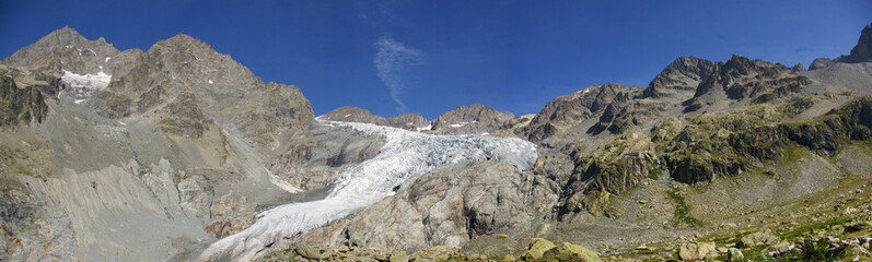 Panorama glacier