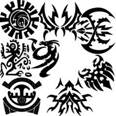 Beautiful tribal tattoos