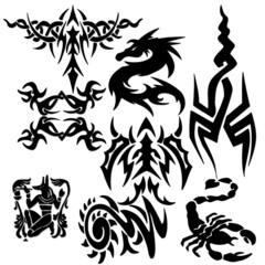 Beautiful tribal tatoo