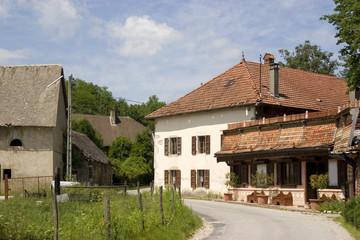 Farm in Alps