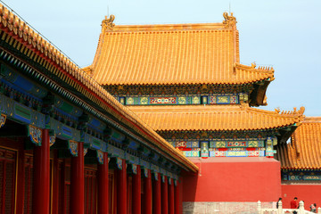A part of Forbidden City
