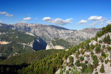 Taurus mountain range