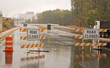 Wet Road Closed