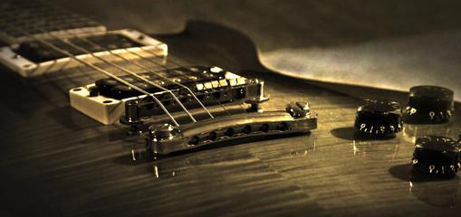 Retro (vintage) guitar