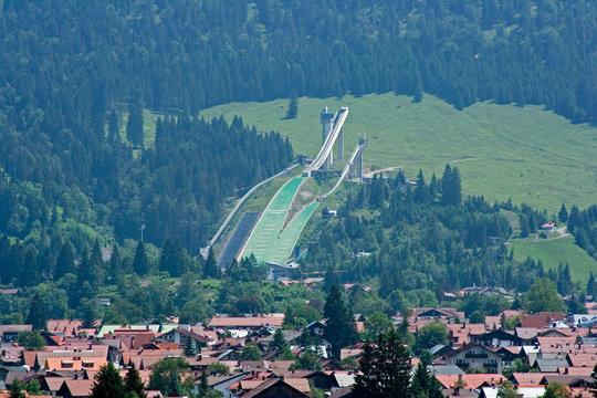 Oberstdorf im Sommer - 4 Schanzen Tournee II