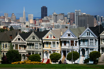 Most famous view of San Francisco