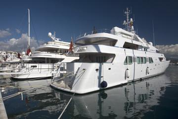 Ultra luxury yachts