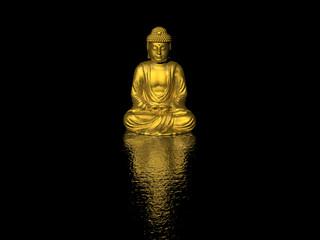 Printed kitchen splashbacks Buddha buddha
