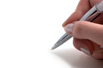 Close-up of a pen
