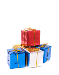 Small boxes of gifts