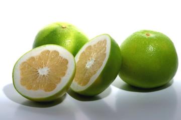 Obraz 3 grapefruits - fototapety do salonu