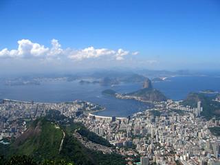 Baie de Rio, vue du Corcovado