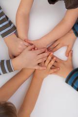 childrens hands