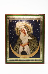 An orthodox icon of virgin Mary