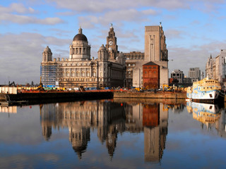 Liver building, Liverpool, UK