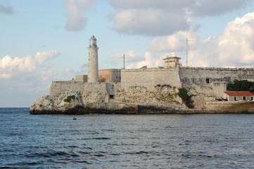 Castle at Havana Harbour