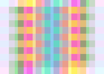 colourful tartan pattern design