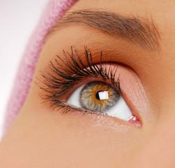 Long, black — beauty eyelashes