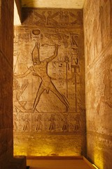 Ancient temple abu simbel - egypt
