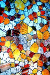 Mosaique de couleurs