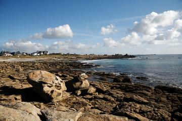 paysage  côte bretonne