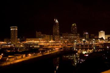 Cleveland at Night II