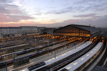 Fotorollo Bahnhof paris gare du nord