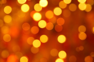 Gaily of color christmas lighting background