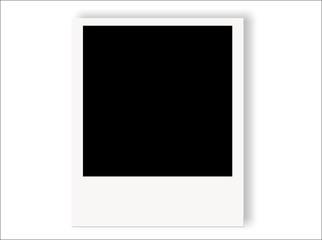 Polaroid sfondo bianco