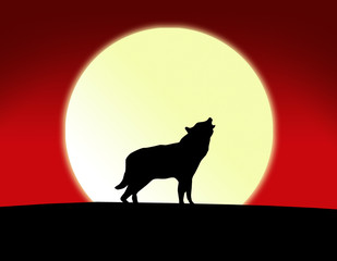 Wolf Vollmond