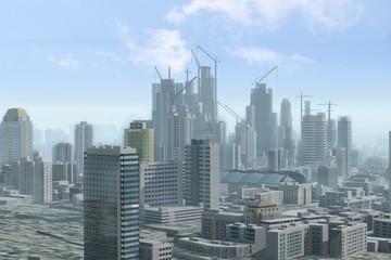 Imaginary city 202