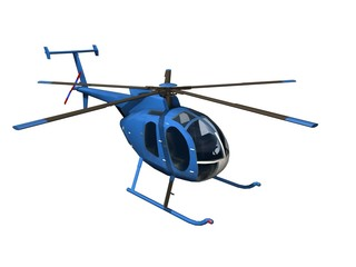 Printed roller blinds Helicopter blue helicopter