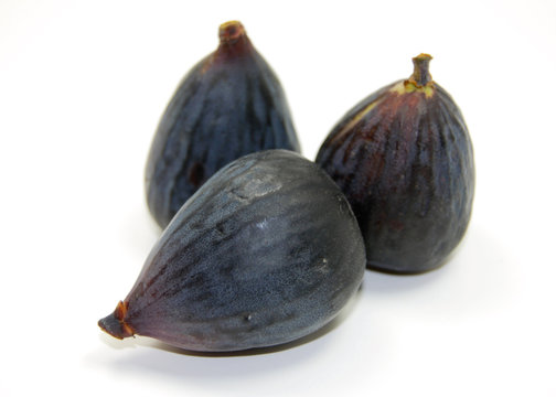 three whole black mission figs