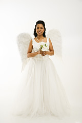 Angelic bride.