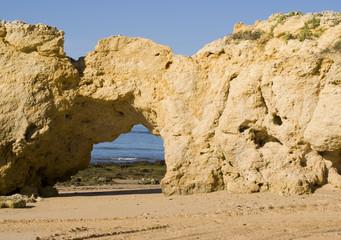 Oura Beach & Cliffs
