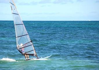 Woman Windsurfer