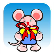 mousy and gift