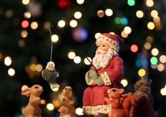 A Fishing Santa